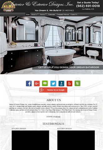 Interior And Exterior Designs Inc La Habra CA Impressive Interior Exterior Designs